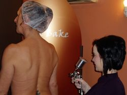 Spray Tanning by Fake Bake